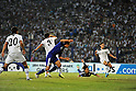 Shinji Okazaki (JPN), SEPTEMBER 6, 2011 - Football / Soccer : Shinji Okazaki (2R) of Japan scores a goal during the FIFA World Cup Brazil 2014 Asian Qualifier Third Round Group C match between Uzbekistan Japan at Pakhtakor Markaziy Stadium in Tashkent, Uzbekistan. (Photo by Jinten Sawada/AFLO) ..