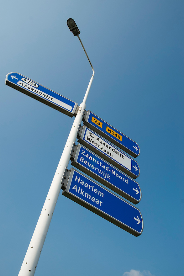 Nederland, Zaanstad, 4 sept 2014<br /> Omgeving voor het trace van de geplande A8 bij Zaanstad. De A8 stopt nu nog bij de Nauernasche Vaart maar moet worden doorgetrokken naar de A9. <br /> Foto: (c) Michiel Wijnbergh