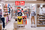 Uniqlo clothing store in Tokyo, Japan
