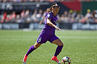 Portland, OR - Saturday April 15, 2017: Camila Martins Pereira during a regular season National Women's Soccer League (NWSL) match between the Portland Thorns FC and the Orlando Pride at Providence Park.