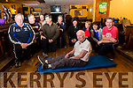 Eric Murphy at 79 years of age hosts a fitness class in Waterville with benefits pictured here with some of his class on Monday were front Eric Murphy, back l-r; Michael Egan, Danny O'Sullivan, Alan Berrington, Dr. Derry Gibson, Frank Meara, Kitty Mangan, Mary Dowd, Pauline Sugrue & Michael Golden.
