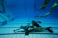 Underwater Hockey World Championships. Sheffield, England.
