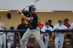 Samford's Gardner Richey bats against Ole Miss at Oxford-University Stadium in Oxford, Miss. on Tuesday, March 22, 2011.