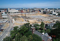 1997 June 05..Redevelopment..Macarthur Center.Downtown North (R-8)..LOOKING WEST.FROM SCHOOL ADMINISTRATION BUILDING..NEG#.NRHA#..