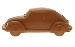 Chocolate Volkwagen Beetle Car
