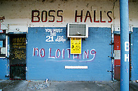 "Boss Halls, Leland Mississippi. Selections for the series ""Along the Blues Highway"". Copyright © all rights reserved. No reproduction without expressed written consent."