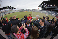 Commerce City, Wednesday, March 20, 2013:  USMNT practice at Dick's Sporting Goods Park.