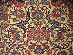 ATP-101 ANTIQUE ISFAHAN PERSIAN RUG
