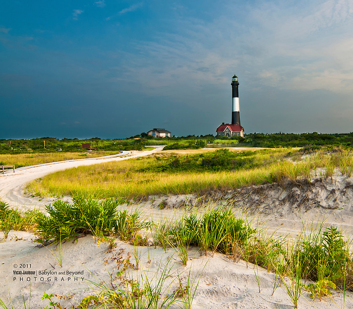 Early Morning at the Fire Island Lighthouse, Fire Island, Long Island, New York