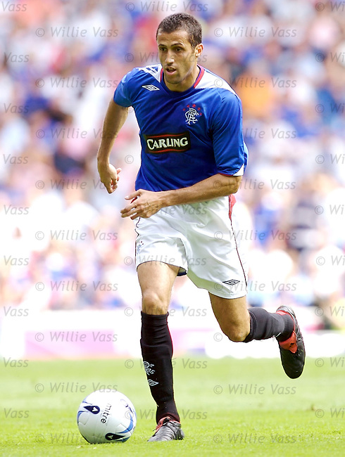 Brahim Hemdani, Rangers.stock season 2006-2007.pic willie vass