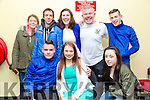 Antonio Gleason, Lixnaw celebrating her 19th birthday with friends at the kingdom greyhound stadium on Saturday Pictured front l-r Liam Costello, Antonio Gleason, Chloe Flaherty, Carrie Ann O'Connor, Kamil Miszkiewicz, Catherine Moriarty, Dylan Knightley and Jack Smith