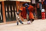 Street scene, Ouarzazate - Morocco