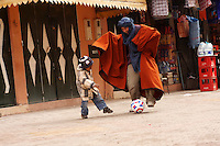 Street scene, Ouarzazate - Morocco