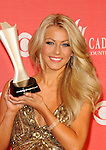 Julianne Hough in the Press Room for the 2009 Academy Of Country Music Awards at the MGM Grand in Las Vegas on April 5th, 2009.