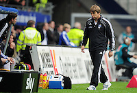 FUSSBALL   1. BUNDESLIGA   SAISON 2011/2012    6. SPIELTAG Hamburger SV - Borussia Moenchengladbach            17.09.2011 Trainer Michael OENNING (Hamburg)