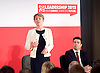 Labour Party Leadership and Deputy Leadership Hustings - East of England - The first of Labour&rsquo;s Leadership and Deputy Leadership regional and national hustings moderated by Gaby Hinsliff at The Forum Banqueting Suites Stevenage  20 June 2015 <br /> <br /> <br /> <br /> leader candidates <br /> <br /> Yvette Cooper<br /> <br /> <br /> <br /> <br /> Photograph by Elliott Franks <br /> <br /> <br /> <br />  <br /> Image licensed to Elliott Franks Photography Services