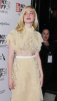 NEW YORK, NY-October 08:Elle Fanning at NYFF54 Centerpiece Gala presents the World Premiere of 20th Century Women  at Alice Tully Hall in New York.October 08, 2016. Credit:RW/MediaPunch