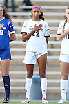 22 November 2013: Texas A&M's Bianca Brinson (22). The Texas A&M University Aggies played the Texas Tech University Red Raiders at Fetzer Field in Chapel Hill, NC in a 2013 NCAA Division I Women's Soccer Tournament Second Round match. Texas A&M advanced by winning the penalty kick shootout 4-3 after the game ended in a 2-2 tie after overtime.