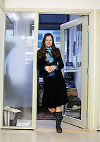 Cecilie Hellestveit, Norsk senter for menneskerettigheter. The Norwegian Centre for Human Rights - NCHR - is an independent national human rights institution, a centre for national and international research on human rights, a centre which promotes rights-based development and a centre for human rights education. .Portrait for Norwegian Refugee Council (Flyktnginhjelpen) magazine Perspektiv..©Fredrik Naumann/Felix Features