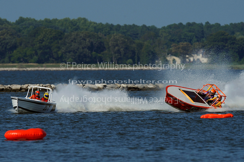 "Frame 4: (L to R):JS-7 ""Rolling Thunder""  and JS-100 ""Summer Storm""  (Jersey Speed Skiff(s)"