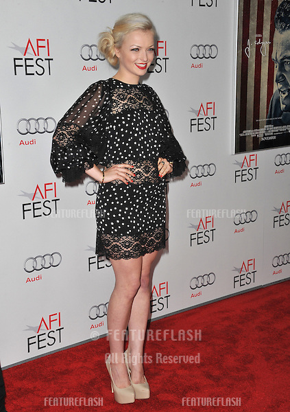 "Francesca Eastwood, daughter of Clint Eastwood, at the world premiere of ""J. Edgar"", the opening film of the AFI FEST 2011, at Grauman's Chinese Theatre, Hollywood..November 3, 2011  Los Angeles, CA.Picture: Paul Smith / Featureflash"