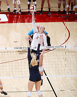 STANFORD, CA; November 25, 2016; Women's Volleyball, Stanford vs California.