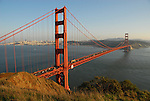 Golden Gate Bridge from Marin Headlands, GGNRA