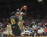 "Ole Miss forward Terrance Henry (1) shoots at C.M. ""Tad"" Smith Coliseum in Oxford, Miss. on Saturday, December 4, 2010."