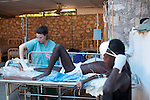 at the Hospital Albert Schweitzer on Friday, October 29, 2010 in Deschapelles, Haiti.