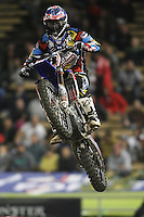 01/22/11 Los Angeles, CA: Davi Millsapa during the1st ever AMA Supercross held at Dodger Stadium.