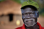 A man in Pisak, a village in Southern Sudan. NOTE: In July 2011 Southern Sudan became the independent country of South Sudan.