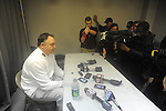 Ole Miss head coach Houston Nutt at his final press conference vs. Mississippi State in Starkville, Miss. on Saturday, November 26, 2011.