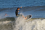 Surfer In Folly Beach