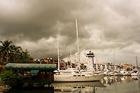 The Marina in Puerto Vallarta, Mexico. September 9, 2008