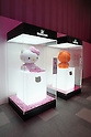 "June 29, 2011, Swarovski and Hello Kitty collaboration jewelry line - Swarovski presents ""House of Hello Kitty"" makes a debut at Omotesando Hills in Tokyo, Japan. This is also a charity event to help the Earthquake victims of Japan."