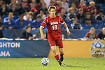 07 December 2012: Indiana's Richard Ballard. The Creighton University Bluejays played the Indiana University Hoosiers at Regions Park Stadium in Hoover, Alabama in a 2012 NCAA Division I Men's Soccer College Cup semifinal game. Indiana won the game 1-0.