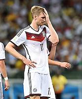 FUSSBALL WM 2014  VORRUNDE    GRUPPE G     Deutschland - Ghana                 21.06.2014 Per Mertesacker (Deutschland)