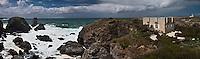 Europe/France/Bretagne/56/Morbihan/ Belle-Ile-en-Mer/Pointe des Poulains: Fort  et jardin de Sarah Bernhardt, la comédienne acheta un ancien fort militaire dont elle fit sa résidence
