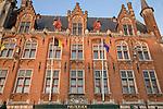 Post Office - Provincial Palace, Market Place, Bruges, Belgium, Europe