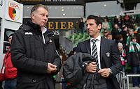 FUSSBALL   1. BUNDESLIGA   SAISON 2012/2013    24. SPIELTAG SV Werder Bremen - FC Augsburg                           02.03.2013 Sportdirektor Stefan Reuter (li, Augsburg) und Sportdirektor Thomas Eichin (SV Werder Bremen)