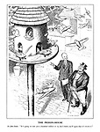 """The Pigeon-House. Sir John Simon. """"It's going to cost you a hundred million or so, but I think  you'll agree that it's worth it."""""""