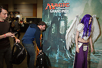 Cosplay woman and fans<br /> <br /> <br /> Magic The Gathering Grand Prix, Washington DC. <br /> <br /> Danny Ghitis for Bloomberg Businessweek