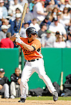 21 May 2007: Baltimore Orioles infielder Pete Maestrales in action against the Toronto Blue Jays during Baseball's Annual Hall of Fame Game at Doubleday Field in Cooperstown, NY. The Orioles defeated the Blue Jays 13-7 in front of a sellout crowd of 9,791 at the historical ballpark...Mandatory Credit: Ed Wolfstein Photo