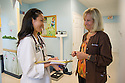 Children's Physicians, Jupiter, Fl. Jocelyn Hu, class of 2014, left, Lynda Bideau, M.D.