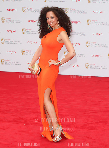 Natalie Gumede arriving for the TV BAFTA Awards 2013, Royal Festival Hall, London. 12/05/2013 Picture by: Alexandra Glen / Featureflash