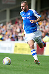 St Johnstone FC...2012-13.Rowan Vine.Picture by Graeme Hart..Copyright Perthshire Picture Agency.Tel: 01738 623350  Mobile: 07990 594431