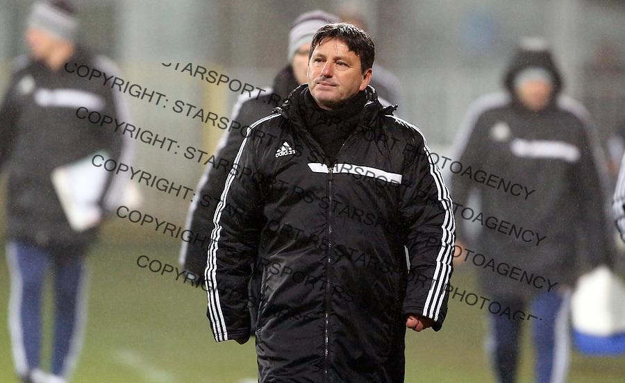 Zoran Popovic Fudbal, Super liga Srbije, Cukaricki - Vozdovac 16.12.2015.<br /> 16. Decembar 2015. (credit image &amp; photo: Pedja Milosavljevic / STARSPORT)