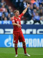 FUSSBALL   1. BUNDESLIGA  SAISON 2012/2013   4. Spieltag FC Schalke 04 - FC Bayern Muenchen      22.09.2012 Toni Kroos (FC Bayern Muenchen)