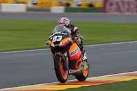Marc Marquez winner and world champion of Moto 2 2012