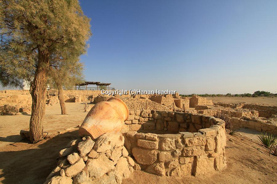 Hatzeva Israel  City new picture : Israel, Arava, remains of Israelite fortresses at Ein Hatzeva, site of ...